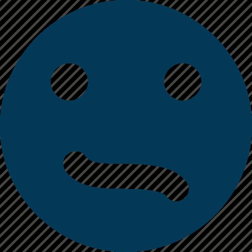 emoticon, expression, feeling, sad face, sad smiley icon