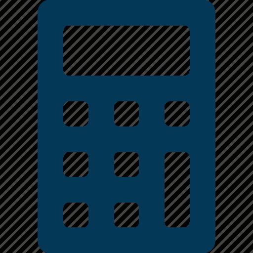 accounting, calculation, calculator, digital calculator, office supplies icon