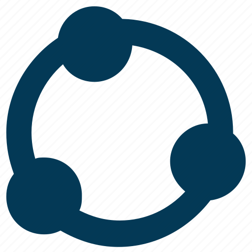 connections, network, process, structure, workflow icon