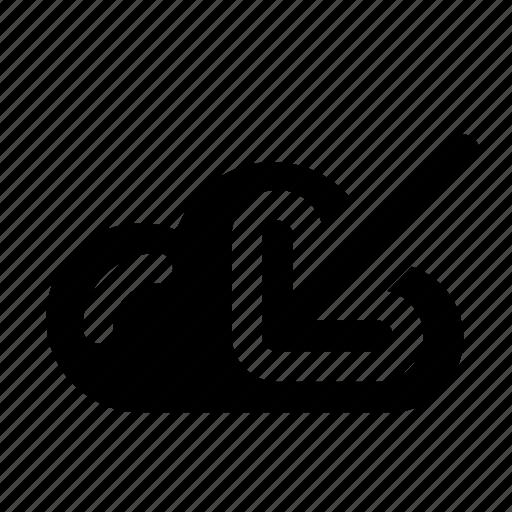 cloud, cloud download, download, download cloud, downloader, guardar, save icon