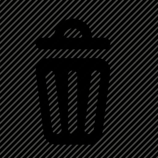 delete, remove, rubbish, trash, trash bin, trash can icon
