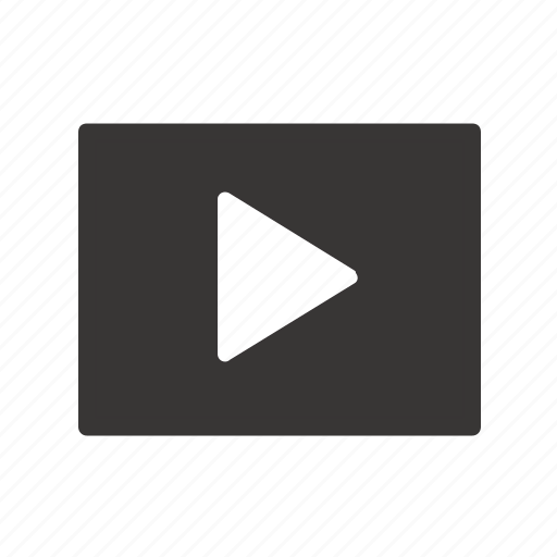 apps, device, film, media, mobile, movie, play, streaming, video, web, youtube icon