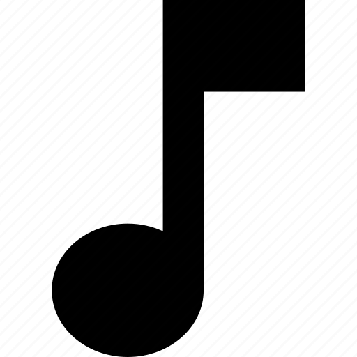 eight, music, musical, note, quaver, sound icon