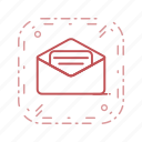 conversation, email, envelope, message icon