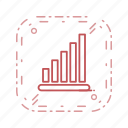 analysis, graph, signals icon