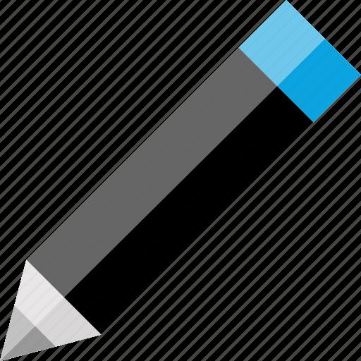 edit, editing, pencil, write icon