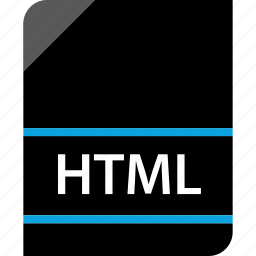 document, file, html, page icon