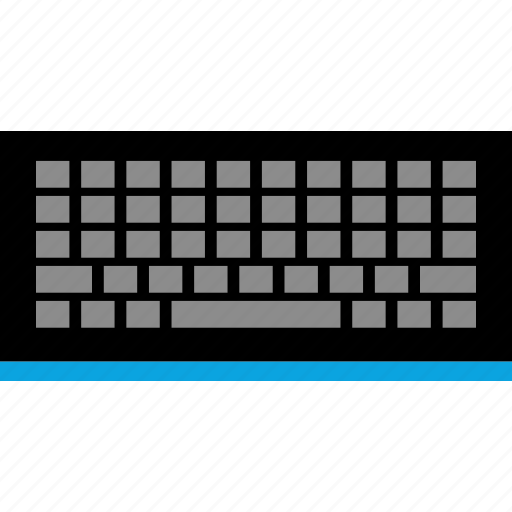 accessory, computer, keyboard, text icon