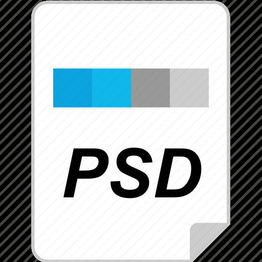 file, photoshop, psd icon