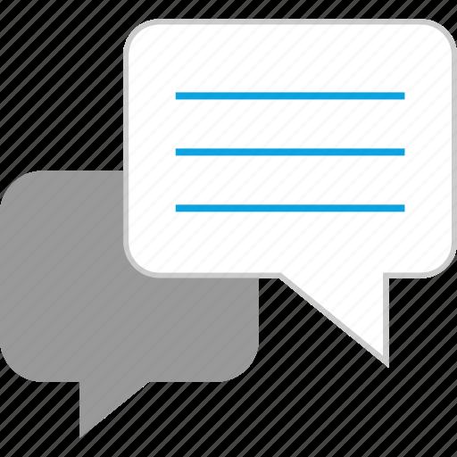 chat, conversation, talk, talking icon