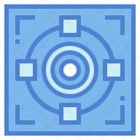circular, competition, sports, target icon