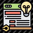 design, illustrator, arrange, webpage, tool icon