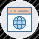blog, browser, development, earth, web, webpage, website