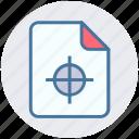 achievement, document, file, form, interface, page, target