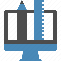 app, application, computer, design, development, tool, web icon