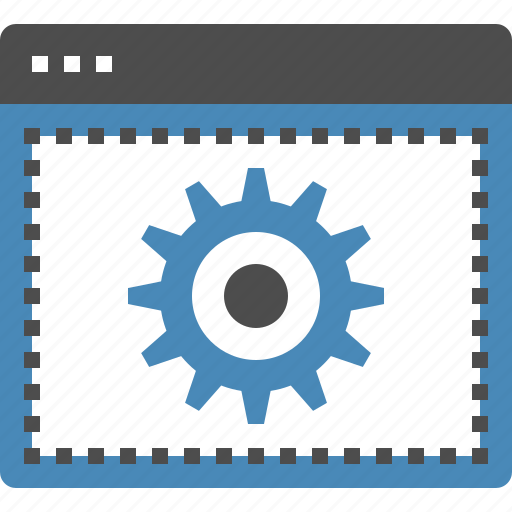 cogwheel, design, development, options, settings, web, website icon