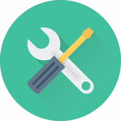Maintenance, repair, screwdriver, spanner, tools icon - Download on Iconfinder
