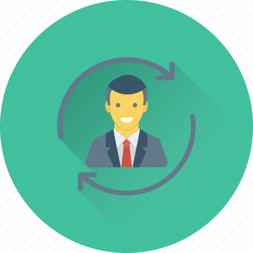 account, avatar, refresh, sync account, update profile icon