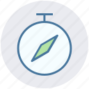 measure, running, speed, stopwatch, time, timepiece, timer icon
