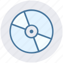 bluray, cd, compact disk, disk, dvd, storage icon
