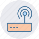 internet, modem, router, signals, technology, wifi, wireless icon