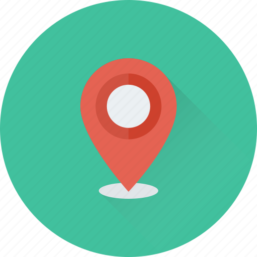 gps, location pin, map pin, map pointer, navigation icon