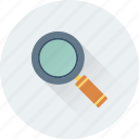 loupe, magnifier, magnifying glass, search, search tool icon