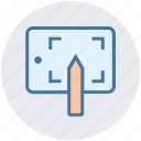 draw, drawing, graphic, illustration, mobile, pencil, tablet icon