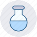 chemistry, development, flask, lab, science, test tube, tube icon