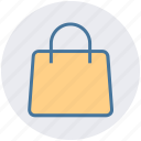 bag, basket, buy, gift bag, package, paper bag, shopping bag icon