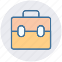 bag, brief case, business, business briefcase, finance, portfolio, suitcase icon