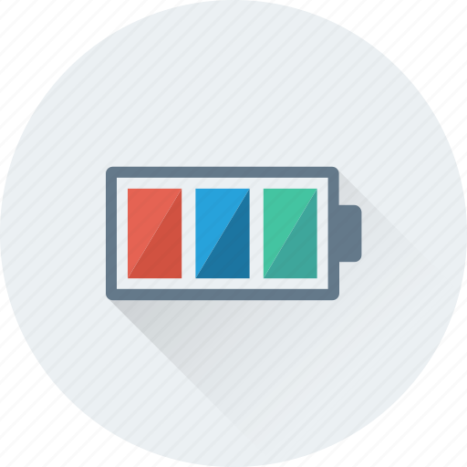 Battery, charging, full battery, mobile battery, power icon - Download on Iconfinder
