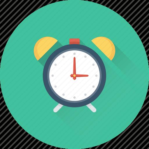 Alarm clock, clock, timekeeper, timepiece, watch icon - Download on Iconfinder