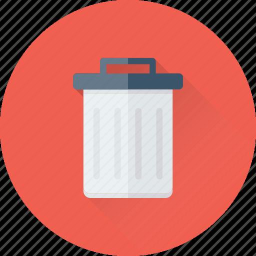 Bin, dustbin, garbage, recycle bin, trash icon - Download on Iconfinder