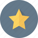 bookmark, five pointed, ranking, rating, star icon