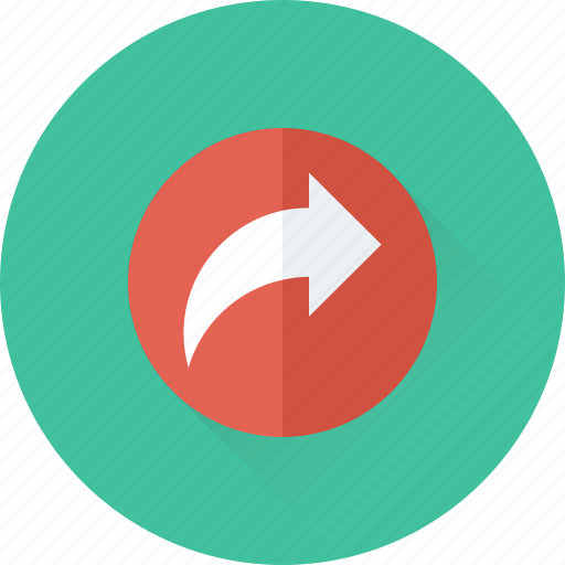 Arrow, directional, forward, next, right icon - Download on Iconfinder