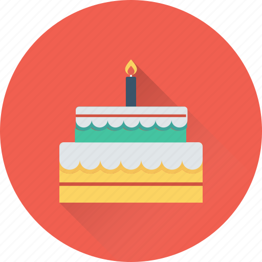Birthday cake, cake, dessert, food, sweet icon - Download on Iconfinder