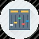 controller, equalizer, preferences, sound controller, tweaks