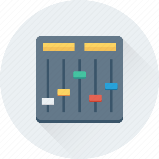 Controller, equalizer, preferences, sound controller, tweaks icon - Download on Iconfinder