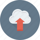 cloud network, cloud sharing, cloud upload, computing, upload icon