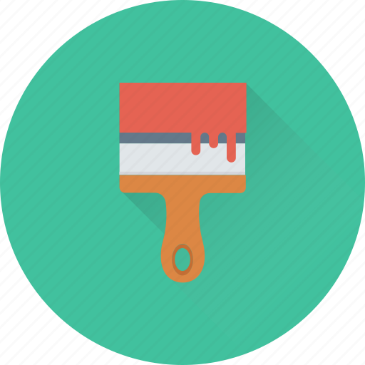Brush, paint, paint brush, painting, wall paint icon - Download on Iconfinder