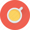 beverage, coffee, drink, hot tea, tea cup icon