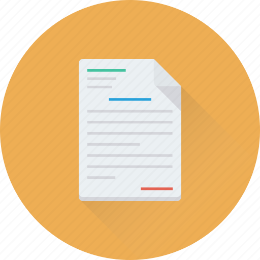 Agreement, application, contract, document, report icon - Download on Iconfinder