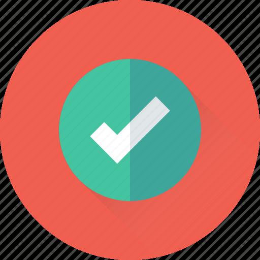 check, check mark, done, tick, verify icon