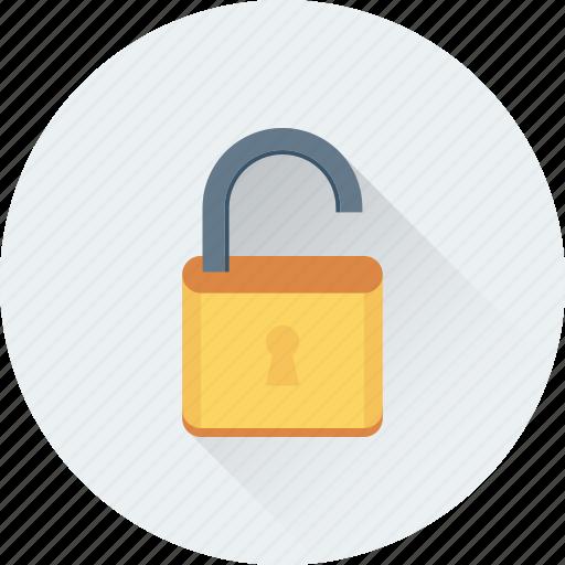 access, lock, padlock, password, unlock icon