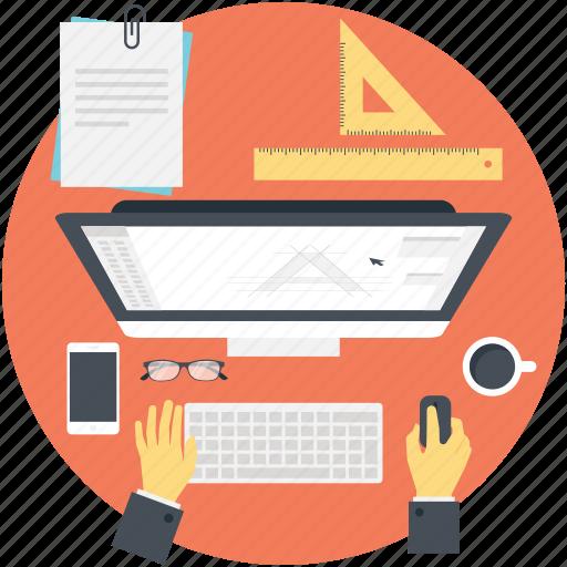 freelancer, graphic designer, web design, web designer, website development icon