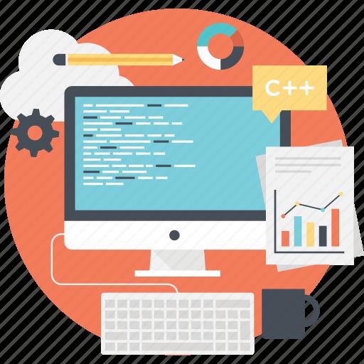 boost seo, page management, page optimization, seo process, web development icon