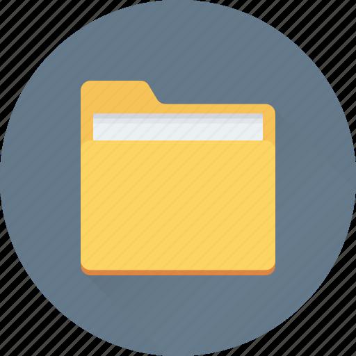 Data folder, data storage, documents, file storage, folder icon - Download on Iconfinder