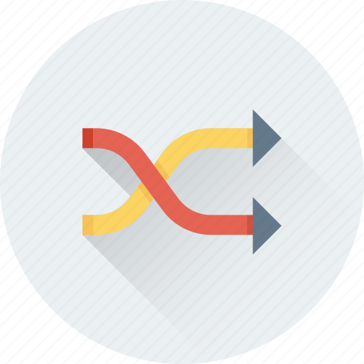 Arrows, media button, repeat, replay, shuffle icon - Download on Iconfinder