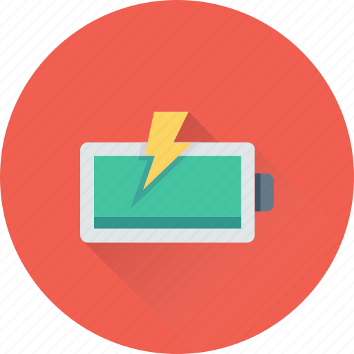 Battery, charging, electric, mobile battery, power icon - Download on Iconfinder